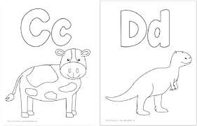 Abc Color Pages Color Pages Coloring Pages For Kindergarten
