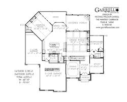 Waverly Carriage House Plan   House Plans by Garrell Associates  Inc waverly carriage house plan   st floor plan