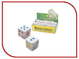 <b>Резинка стирательная Brauberg</b> Game White 223605, цена 27 ...