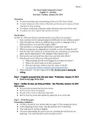 minix the great gatsby summative essay argument essays