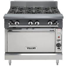 vulcan commercial stove. Delighful Commercial Vulcan V6B36CNAT V Series Natural Gas 6 Burner 36 Intended Commercial Stove
