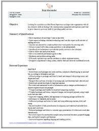 ... 15+ Excellent Mailroom Clerk Resume Samples - Effective Sample Resume  Document For Mailroom Clerk Position ...