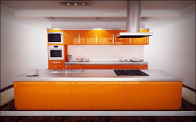 Orange Kitchens Orange Kitchen By Sloeb On Deviantart