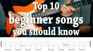 Guitar chord books we recommend. Top 10 Fun Easy Guitar Songs You Should Know With Tabs Youtube