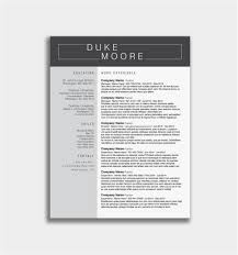 Most Effective Resume Format Example Good Resume Template Free