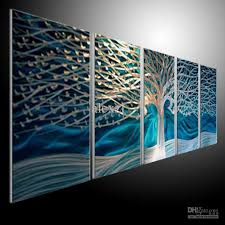 this cheap contemporary wall art is constructed of rigid aluminum plate that has been hand ground on metal beach theme wall art with wall art 10 the best idea cheap contemporary wall art modern wall