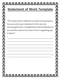 3 tasks 3.1 task #1 the templates are in microsoft word and excel and can be downloaded online for only $7.99. Blank Statement Of Work Done Template Free Word Templates