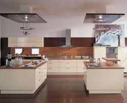 Simple Wall Cabinet Beautiful Modern Kitchens With Mahogany Wooden Interior Design