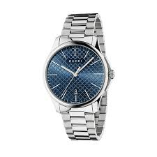 gucci watches watches ernest jones gucci g timeless slim men s stainless steel bracelet watch product number 2378515