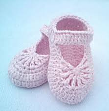 Crochet Baby Shoes Pattern