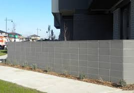 brick fences.  Brick Block Fencing Brick Pillar Fence Intended Brick Fences G