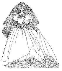 Disegni Barbie Sposa Disegni Per Bambini Da Stampare E Colorare By
