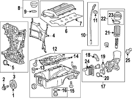2014 chevrolet cruze parts gm parts department buy genuine gm 5 shown see all 7 part diagrams