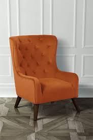 Dorchester Lounge Armchair, Burnt Orange