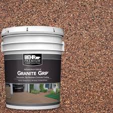 Painted Concrete Floors Behr Premium 5 Gal Gg 09 Sunset Ridge Decorative Concrete Floor