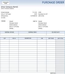 Local Purchase Order Form Amazing Simple Purchase Order Form
