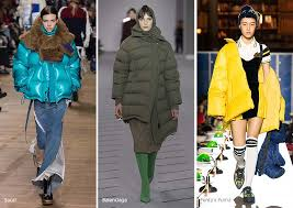 fall winter 2017 2018 fashion trends puffer jackets