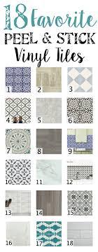 Peel And Stick Tile Designs 18 Favorite Peel And Stick Vinyl Tiles Blesser House