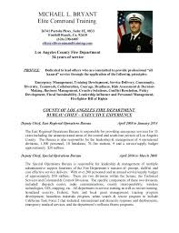 Fire Chief Resume Firefighter Resume Example Fire Chief Resume Cover ...