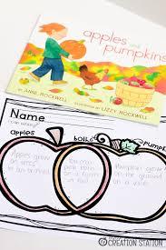 Pumpkin Venn Diagram Apples And Pumpkins Reading Activity Mrs Jones Creation