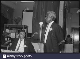 James Morgan of Coraki speaking at an Aboriginal-Australian Fellowship  conference in Sydney. Seated is Edward (Ted) Fields of Walgett, October  1965. by State L 0461 Stock Photo - Alamy