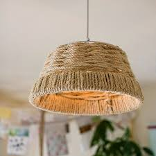 Image Creative Diy Rope Pendant Light The Spruce Crafts 12 Diy Pendant Light Fixtures From Upcycled Items