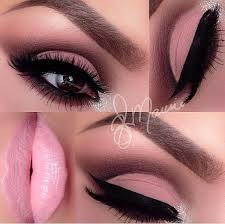 light pink eye makeup via