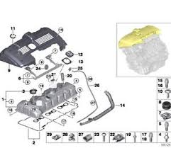 bmw n52 engine diagram wiring diagrams best genuine bmw n52 engine valve cover gasket bolts kit e90 e91 e92 bmw e90 320d engine diagram bmw n52 engine diagram
