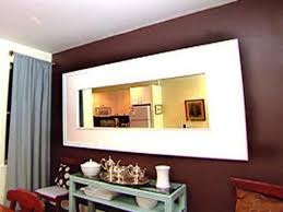 Diy Large Wall Mirror Weekend Project Build A Mirror Frame Hgtv