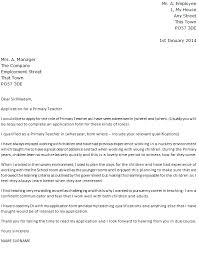 Bunch Ideas Of Cover Letter Sample For A Preschool Teacher Cover