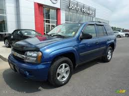2005 Superior Blue Metallic Chevrolet TrailBlazer LS 4x4 #31851478 ...