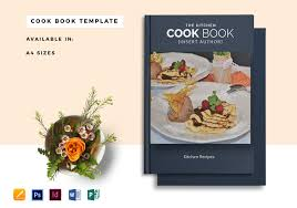 Publisher Cookbook Template Printable Cookbook Catalog Template