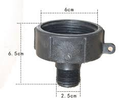 garden hose adapter. 1000 Litre IBC Water Tank And Garden Hose Adapter Fittings 60 MM Adaptor 2\