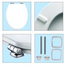 bemis toilet seat fittings. toilet: choice universal pro soft close toilet seat chrome hinges slow installation bemis fittings