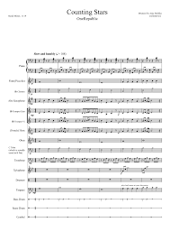 drum set sheet music snare drum sheet music for counting stars pinteres