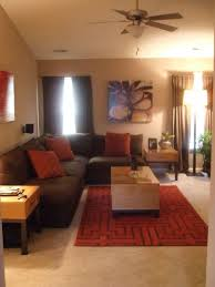 High Quality Brown And Red Living Room Ideas