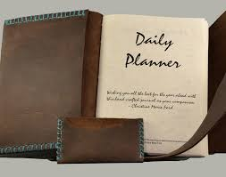 rustic daily planner for the adventurous soul