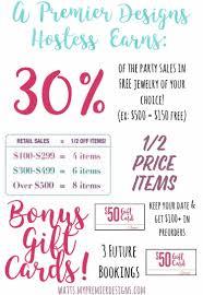Premier Designs Party Premier Designs Hostess Benefits How Generous Can You Get