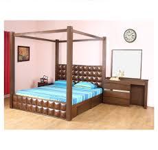Nilkamal Bedroom Furniture Buy David King Bedroom Set Home By Nilkamal Dark Walnut Online