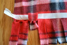 and pull through fleece scarf 5