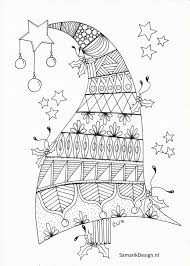 Kleurplaat Voor Volwassenen Christmas Library Ideas Mandala