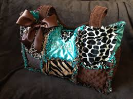 Custom Rag Quilted Diaper bag for Girl or Boy Teal, Leopard ... & Custom Rag Quilted Diaper bag for Girl or Boy Teal, Leopard, Giraffe, Minky  Soft Handbag, Purse Adamdwight.com