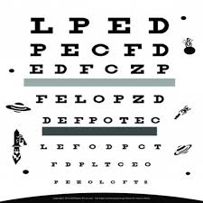 39 Actual Test Your Vision Eye Chart