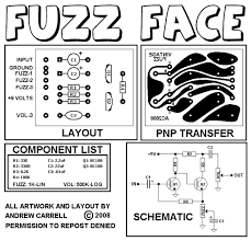 vintage style fuzz face silicon guitar pedals vintage style fuzz face silicon