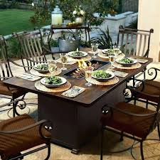 dining fire pit table fire pit dining set patio table with fire pit inspirational fire pit