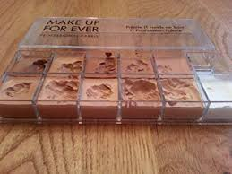 amazon makeup forever professional paris 11 foundation palette beauty