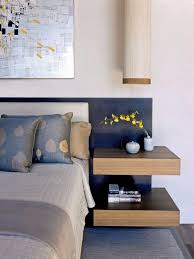 wall mounted bedside shelf with drawer tips for a clutter free bedroom nightstand
