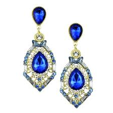 navy blue chandelier earrings eimatco pertaining to elegant house navy blue chandelier earrings remodel