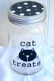 Decorating Canning Jars Gifts A Mason Jar Gift For A Cat Lover Cat Lovers Decorating Mason 84