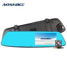 <b>AOSHIKE</b> 4.7 Inch Driving Recorder <b>Car</b> Rearview Mirror Recorder ...